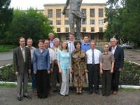 Коллектив кафедры «Строительные и дорожные машины» (2005 год)